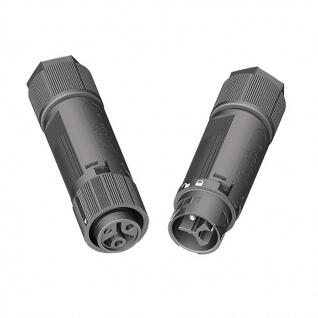 Wieland Stecker und Buchse 3 polig RST mini RST16I3 Verschaltung IP69 5-9, 5mm