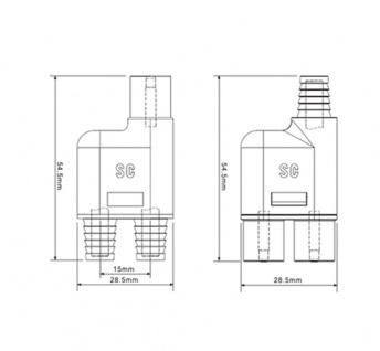 MC3 Y Stecker Paar Solarstecker Buchse Connector UV beständig Steckverbinder NEU - Vorschau 4