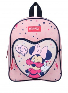 rucksack Minnie Mouse Cool Girl 7 Liter Polyester rosa