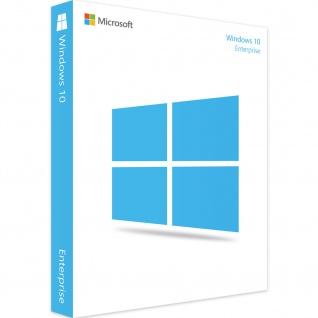 Microsoft Windows 10 Enterprise Vollversion MS Win10 W10 32/64Bit Deutsch