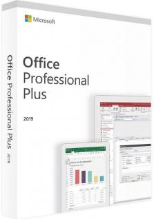 Microsoft Office 2019 Professional PLUS Vollversion MS Pro 32/64Bit Multilanguage
