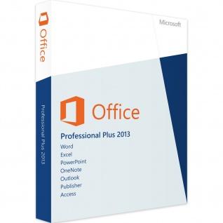 Microsoft Office 2013 Professional PLUS Vollversion MS Pro 32/64Bit Express