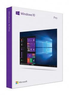 Microsoft Windows 10 Professional Vollversion MS Win10 W10 Pro 32/64Bit