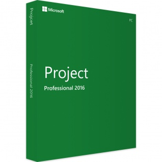 Microsoft Project 2016 Professional Vollversion MS Pro 32/64Bit