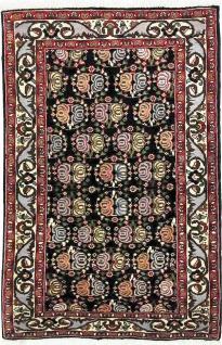 Rugeast Orientteppich Bidjar 105 × 72 cm Handgeknüpft