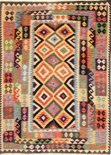 Rugeast Orientteppich KELIM 235×171 cm Handgewebt