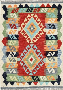 Rugeast Orientteppich KELIEM 90×60 - Vorschau 1