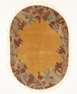 Rugeast Nepal Handgeknüpft Orientteppich Modern 178 x 125cm