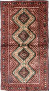 Rugeast Orientteppich KELIM 190 x 102 cm Handgewebt