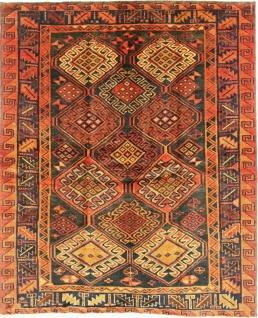 Rugeast LORESTAN 198×164 cm Orientteppich Handgeknüpft