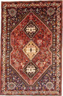 Rugeast Ghoshghai 267×173 cm Orientteppich Handgeknüpft