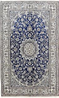 Rugeast Orientteppich Nain 9 La 253 x 153 cm Handgeknüpft