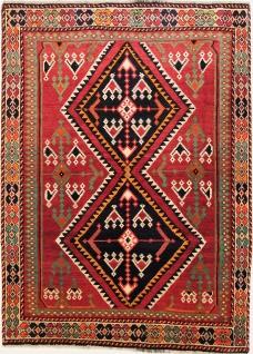 Rugeast Qashqai 199×144 cm Orientteppich Handgeknüpft