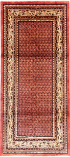 Rugeast Orientteppich Saroughmir 240×108cm Handgeknüpft