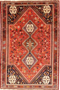 Rugeast Ghoshghai 271×178 cm Orientteppich Handgeknüpft