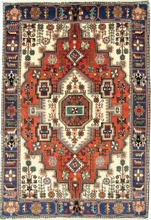 Rugeast NAHAVAND 210×145 cm Orientteppich Handgeknüpft