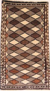 Rugeast Orientteppich Handgeknüpfte Qashqai 203×114 cm
