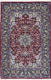 Rugeast Orientteppich Isfahan 165x109 cm Handgeknüpft