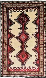 Rugeast Orientteppich Handgeknüpfte Qashqai Shiraz 197 x 112 cm