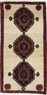 Rugeast QASHQAI 128 x 65 cm Orientteppich Handgeknüpft