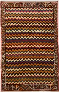 Rugeast Qashqai 182 x 118 cm Orientteppich Handgeknüpft