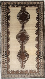Rugeast Orientteppich Handgeknüpfte Qashqai 224 × 131cm