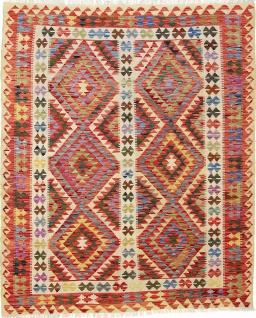Rugeast Orientteppich KELIM 193×160 cm Handgewebt