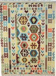 Rugeast Orientteppich KELIM 235×172 cm Handgewebt