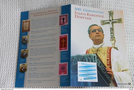 Julius Kardinal Döpfner; Gedenkblatt der Deutsche Post 2013