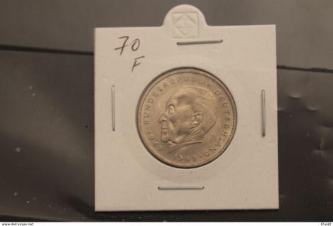 Bundesrepublik Deutschland, Kursmünze: 2 Deutsche Mark; Konrad Adenauer; 1970 F, Jäger-Nr. 406, stg