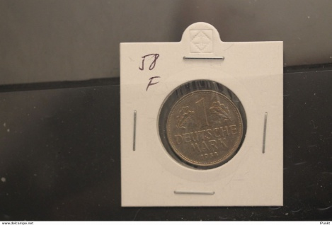 Bundesrepublik Deutschland, Kursmünze 1 Deutsche Mark, 1958 F, Jäger-Nr. 385, vz +