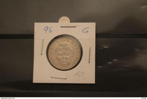 Deutschland; 2 Deutsche Mark Gedenkmünze: Ludwig Erhard, Jäger-Nr. 445, stg, 1996 G
