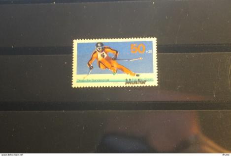 Deutschland BRD Sporthilfe-Ausgabe 1978 mit Musterstempel; Muster-Marke