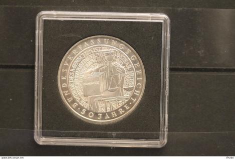 Bundesrepublik Deutschland; 10 Deutsche Mark; 2001; Bundesverfassungsgericht, Silber; stg; Jäger-Nr. 480