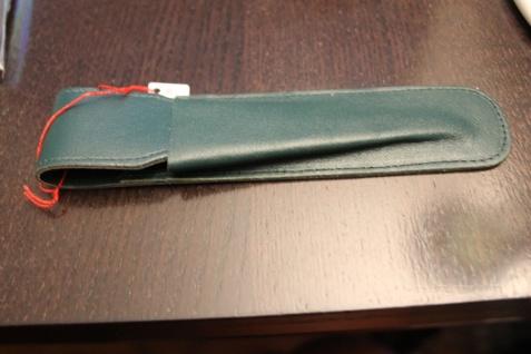 Mäppchen für 1 Schreibgerät; Etui für 1 Schreibgerät, grün