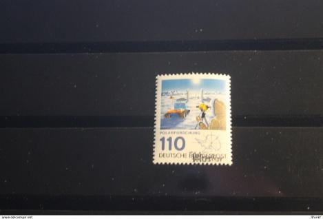Deutschland BRD Polarforschung 1981 mit Musterstempel; Muster-Marke