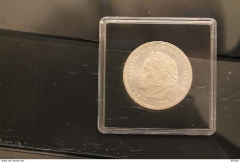 Bundesrepublik Deutschland 1970, Gedenkmünze Ludwig van Beethoven, 5 Deutsche Mark; Silber 625, Jäger-Nr. 408, stg