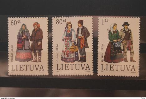 Lietuva; Trachten; 1993, NMH