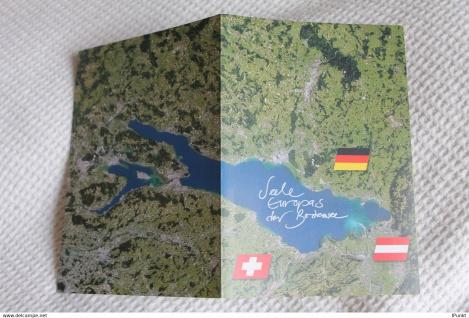 Der Bodensee-Seele Europas; Euregio, Ravensburg, Gedenkblatt der Deutsche Post 1993