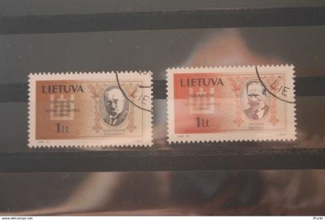 Lietuva; Persönlichkeiten, 1994; gestempelt