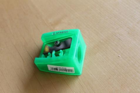 Anspitzer; Spitzer für extra dicke Stifte, grün