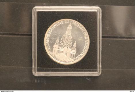 Bundesrepublik Deutschland; 10 Deutsche Mark; 1995; Frauenkirche Dresden, Silber; stg; Jäger-Nr. 460