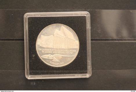 Bundesrepublik Deutschland; 10 Deutsche Mark; 2001; Katharinenkloster, Silber; stg; Jäger-Nr. 479