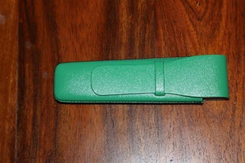Mäppchen für 1 Schreibgerät; Etui für 1 Schreibgerät, hellgrün