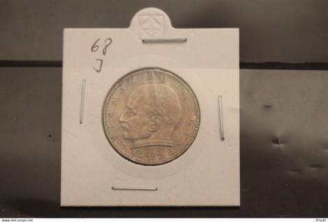 Bundesrepublik Deutschland, Kursmünze: 2 Deutsche Mark; Max Planck; 1968 J, Jäger-Nr. 392, vz