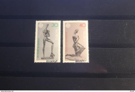 Deutschland BRD EUROPA-Ausgabe 1974 mit Musterstempel; Muster-Marke