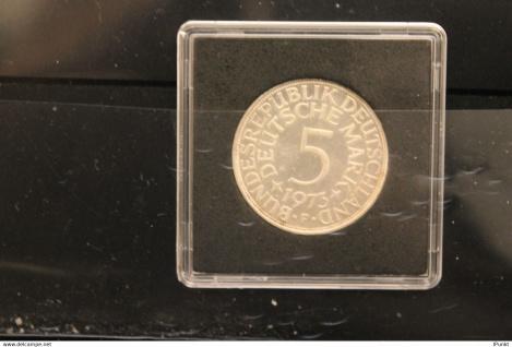 Bundesrepublik Deutschland; Kursmünze, 5 Mark, 1973 F, Silber, vz, Jäger-Nr. 387