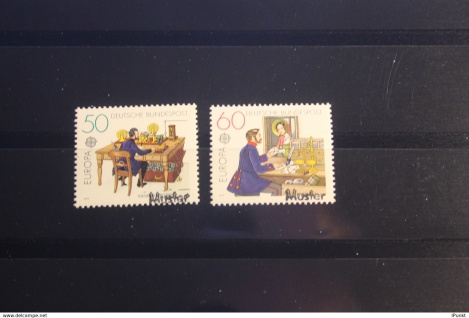 Deutschland BRD EUROPA-Ausgabe 1979 mit Musterstempel; Muster-Marke