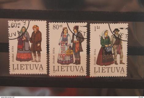 Lietuva; Trachten; 1993, gestempelt