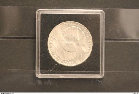 Bundesrepublik Deutschland; 10 Deutsche Mark; 1971; Olympische Spiele München, Silber; stg, Jäger-Nr. 402